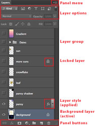 Layers, starting image